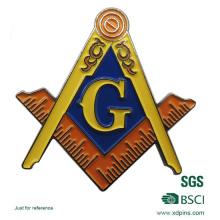 2016 badge en émail en métal sur mesure pour la promotion