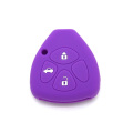 Gifts silicone car waterproof key case for Toyota