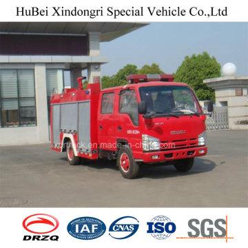 3ton Isuzu Water Tank Fire Fighting Truck Euro 4