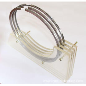 Marine engine piston ring