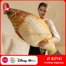 Life Like Creative Big Fish Plush Toys Presentes de almofada