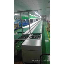 Linha de montagem de cadeia de velocidade de ventilador de cozinha