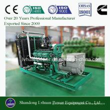 Generador de biomasa con combustible de madera o derramamiento de gasificación