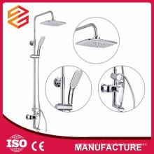 площадь дождь душ установить раздвижные набор латунь ванна душ