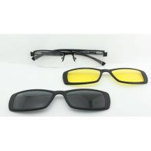 Derniers cadres de lunettes optiques à clipser magnétiques 2017