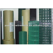 Panel de malla de malla soldada de PVC
