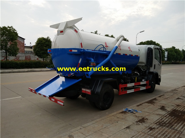 Fecal Suction Trucks