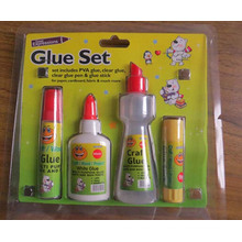 Liquid White Sitck Glue Sets for School and Office Supply