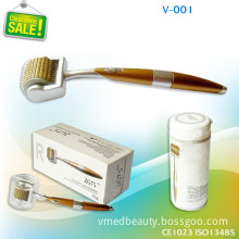 2013 Newest 192 Pins Titanium Sense Vibration Roller Home Use Facial Derma Rolling Therapy