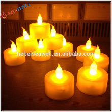 long lasting flameless led tea lights candles