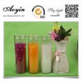 Bougie bocal en verre parfumé pour décoration votive