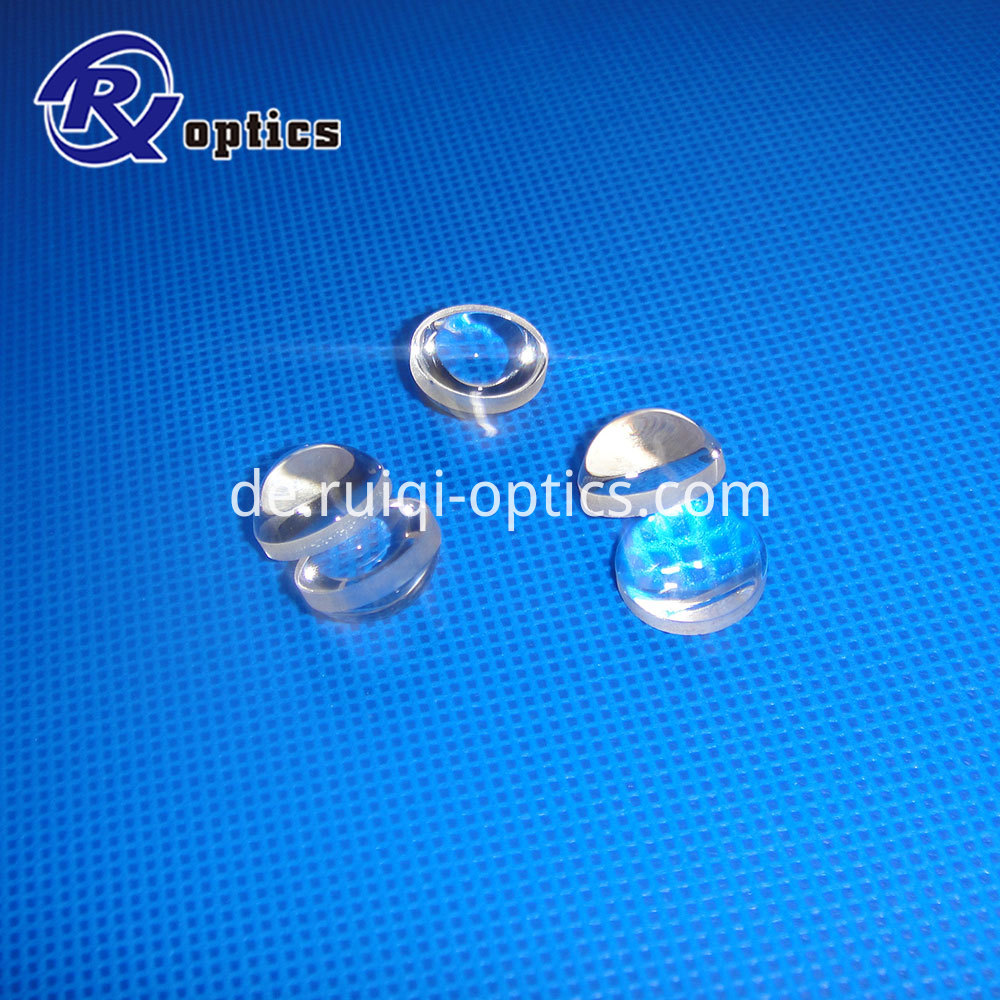 UV fused silica aspheric lens