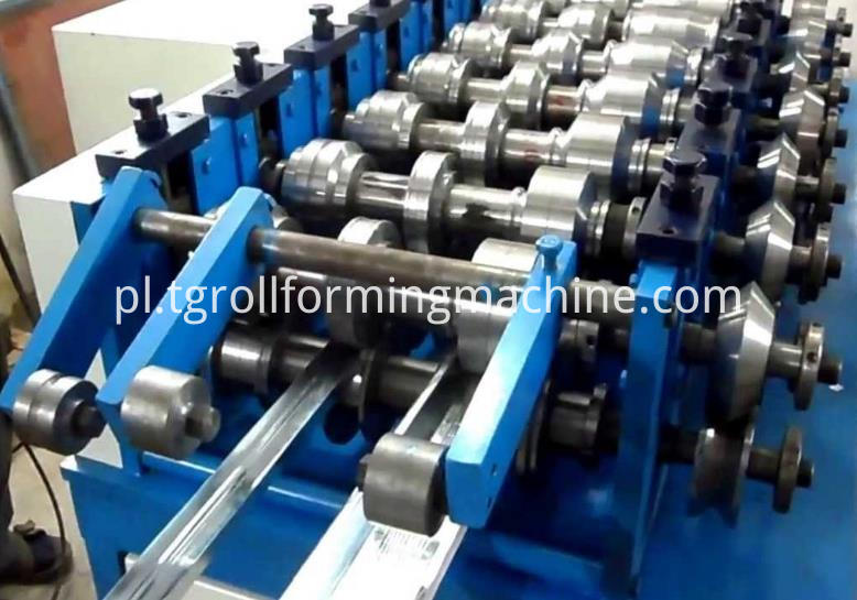 U-shaped Steel Roll Forming Machine