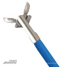Pinzas para biopsia desechables con las mordazas de dientes de cocodrilo