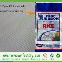 PP Spunbond Nonwoven Fabric for Rice Bag Making