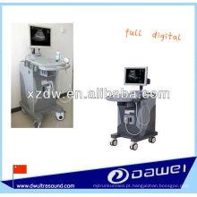 ultra-sonografia e máquina de ultra-som LED carrinho com CE (DW370)