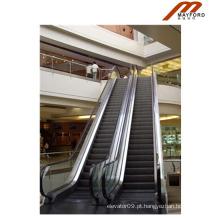 Escada rolante comercial com degraus de alumínio