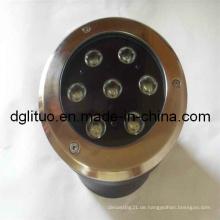 Aluminium-Druckguss-Untergrund-LED-Lichtgehäuse und -teile