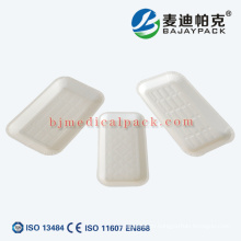 Placa desechable de papel de esterilización