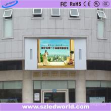 Pantalla fija a todo color al aire libre SMD / DIP de la pantalla del tablero del panel de pantalla LED que hace publicidad P8
