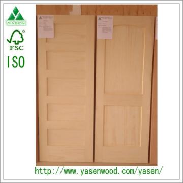 Dalle de porte en bois composite peuplier