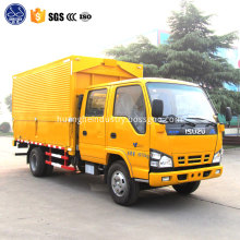 dongfeng long bed cargo truck