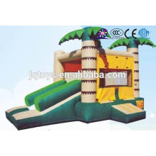 JQ-YEK3703 China Soft Indoor Entertainment small inflatable castle Playground for Kids