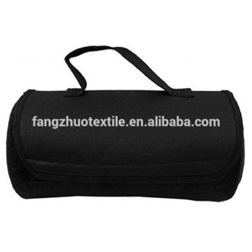 hotsale handle waterproof travel picnic mat fleece blanket
