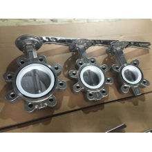 Stainless Steel PTFE Lug Butterfly Valve
