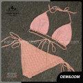 Verstellbarer Halter Frauen Handmade Crochet Bikini Lingerie