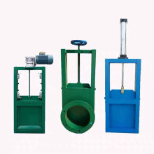 Diverter gate for cement feed