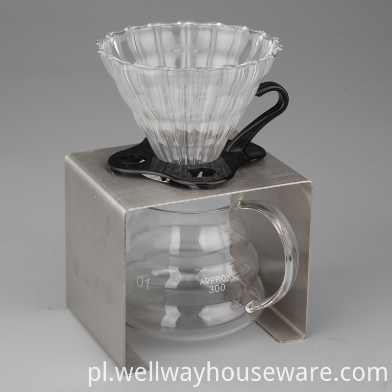 3 Pieces Pour Over Coffee Dripper Starter 1