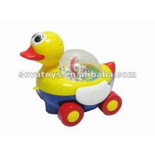 B / o bloco pato com música brinquedos pato