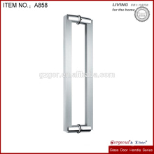 different length glass pull/push door handle