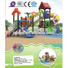 KL 011A Popular Kids Tipo de material de plástico al aire libre Playground Equipment Forest Tree House