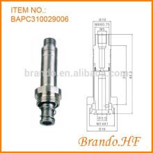 Нержавеющая сталь Материал 3-ходовой электромагнитный клапан Шток поршня