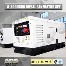 12kVA 60Hz, gerador diesel insonorizado, alimentado por Yangdong (SDG12KS)