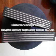 China Rubber Bearing Pad with Steel Plate to Nigeria