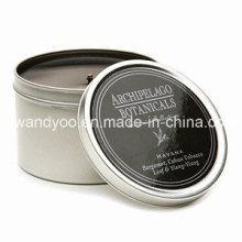 Vela de estaño de soja perfumada única