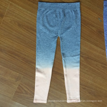 Seamless Yarn Dyed Ladies Leggings For Sporting