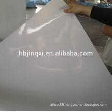 White Transparent Silicon Rubber Sheet