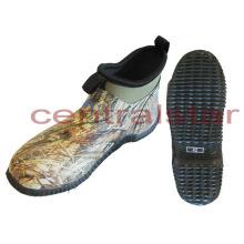 Fashion Waterproof Camo Slip-on Hunting Shoes (GS004)