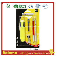 School and Office Stationery with Twin Pen