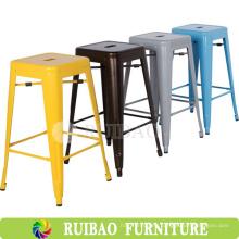 2016 Nuevos Productos Replica Metal Folding Chair Vintage Industrial Metal Silla Lateral