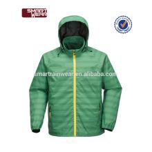 En gros pas cher personnalisé logo hiver hommes couche imperméable veste de pluie