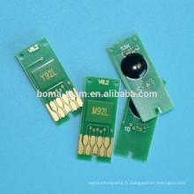Recharge de cartouches de cartouches d'encre pour epson ic90 puces de cartouche de toner pour epson PX-B750F B700 B675F