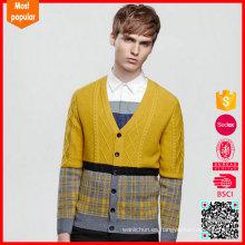 La nueva alta calidad de la llegada modificó la acción del suéter de los hombres