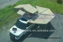 4WD 4*4 car awnings /side and rear awing