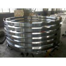 C45, 50mn Q + T, 42CrMo4 Q + T, Anéis internos e externos de AISI 1050 Q + T para o rolamento do anel de giro