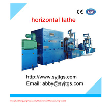 Used Horizontal type CNC Lathe machine (Heavy duty Horizontal Lathe machine price )for sales in sock